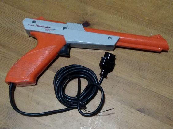 Auction ID 184754 - Original Nintendo NES Gun Zapper for Duck Hunt